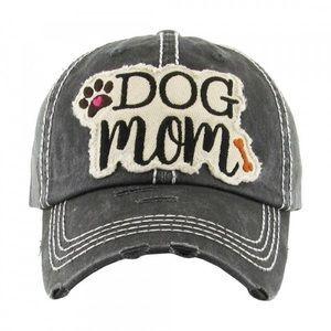 ⭐️COMING SOON⭐️Black DOG MOM baseball hat